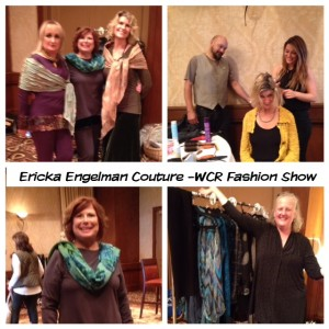 Modeling Ericka Engelman Couture