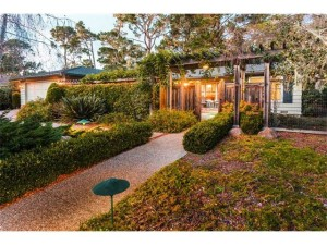 Stunning single level residence in the Country Club area of Pebble Beach