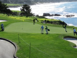 Pebble Beach Golf Links Photo taken by Bob Borden