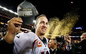 Peyton Manning, quarter back of the Denver Broncos