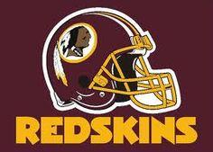 red skins helmet