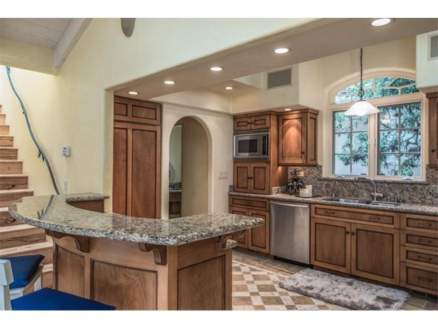 Remodeled gourmet kitchen